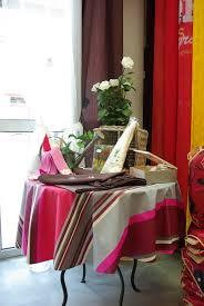 nappe en coton enduit ellen décoration