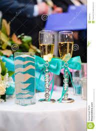 Sand Vases For Wedding Ceremony Vase With Pattern Wedding Sand Ceremony Blue With White Stock