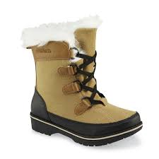 kmart s boots on sale athletech s antonia lace up faux fur winter boot