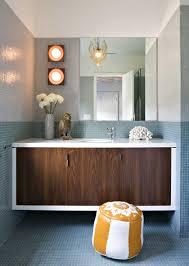 Mid Century Modern Bathroom Vanity Mid Century Modern Bathroom Lighting Visionexchange Co