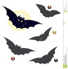halloween shape game the bat stock photography image 21369252