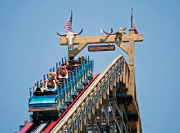 How Many Flags Have Flown Over Texas Texas Giant Six Flags Over Texas Arlington Tx Shared By Green