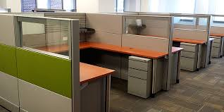 Office Furniture Refurbished by System Refurbishing Panel Recovering Worksurface And Desk