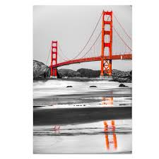 aliexpress com buy 1 panel hd printed black and white golden