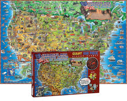 usa map jigsaw puzzle usa 500 puzzle 24 x36 world products