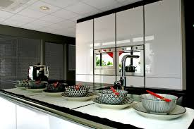 caseo cuisine caseo showroom contemporain cuisine grenoble par amasta design