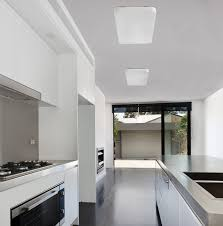 contemporary ceiling light rectangular aluminum steel sogo