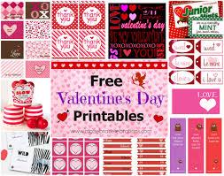 free valentine u0027s day printables u2013 a to zebra celebrations