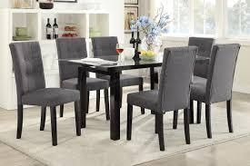 poundex arm chair u0026 dining chair f1595 2piece dining chairs