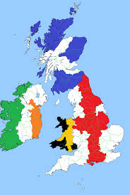 Britain Blank Map by Britain And Ireland Flag Map By Rory The Lion On Deviantart