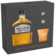 gentleman gift set daniel s gentleman with rocks glass and whiskey stones