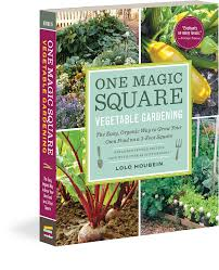 square foot vegetable garden layout one magic square vegetable gardening workman publishing