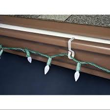 buy 100ct outdoor gutter or siding hooks for hanging icicle