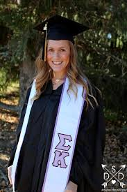 sorority graduation stoles sorority graduation stole duo studio designs