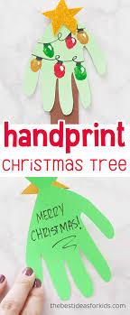 handprint card handprint tree card