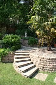 best sloped garden ideas on pinterest sloping hill simple u shape