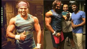 arya tamil actor arya gym workout new video tamil cinema news
