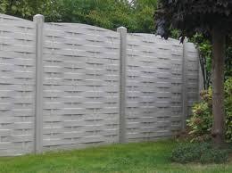 jardin cloture idée jardin une clôture pour s isoler décoration