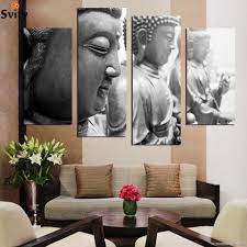 popular home interiors painting buy cheap home interiors painting 4 wall stickers home decoration interior oriental buddhist art canvas digital pictures in parts shipping