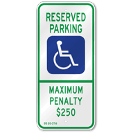 handicap parking signs handicap sign handicap parking