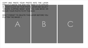 8 free photoshop storyboard collage templates from gingerpixel