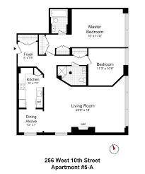 west 10 apartments floor plans corcoran 256 west 10th street apt 5a west village rentals