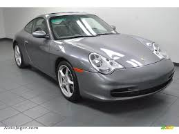 grey porsche 911 2003 porsche 911 carrera coupe in seal grey metallic 621104