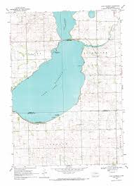 Castlewood State Park Trail Map Lake Poinsett Topographic Map Sd Usgs Topo Quad 44097e1