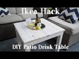 ikea hacks coffee table 9 ways you can makeover a cheap ikea side table tiphero