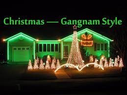 christmas lights net style christmas lights gangnam style 2012 youtube