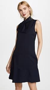 shift dress beckham neck tie shift dress shopbop