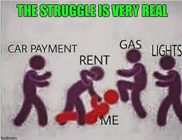 Paying Bills Meme - enjoy your childhood kids adulthood is waiting for the beatdown