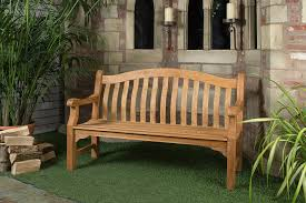 wooden teak outdoor bench u2014 teak furnitures simple and natural