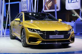 volkswagen arteon volkswagen goes flashy with new arteon fastback sedan
