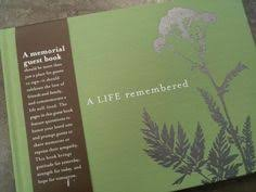 memorial guest book lovely flourish border creates an personalized memorial