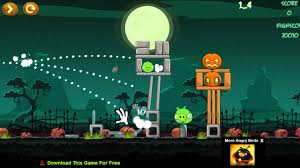 angry birds online games angry birds halloween game levels 1 9