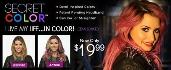 hair extensions as seen on tv secret color hair extensions