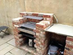 Patio Fireplace Kit by Outside Brick Fireplace Grill Backyard Brick Patio Design With 12