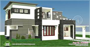 3 bhk 2300 sq feet contemporary house exterior kerala home