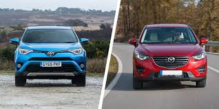 toyota rav4 vs mazda cx 5 compared carwow