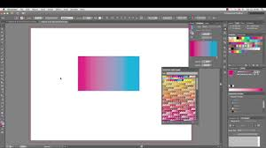 Pantones by How To Make Pantone Gradient In Adobe Illustrator Youtube