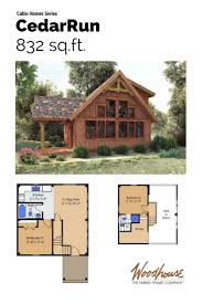 28 simple cabin plans with loft small floor vacation home garden