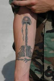 semper fi military tattoo design on arm photo 3 photo
