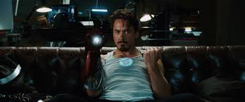 Tony Stark Image Iron Man Movie Tony Stark On Couch Photo 1 Jpg Marvel