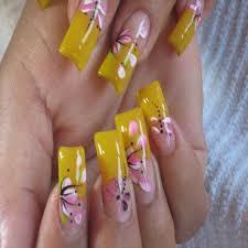 gel nail tip design ideas