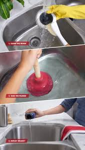How To Unclog A Kitchen Sink How To Unclog Your Kitchen Sink In 3 Steps Drano