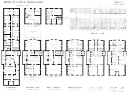 Housing Blueprints by Victorian Floor Plans Victorian London Houses And Housing