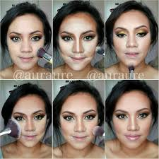4 amaziong face makeup art step by step