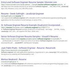 Resume Template Monster Monster Resume Format Monster Resume Examples Sample Resume