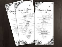25 unique menu template word ideas on pinterest wedding program